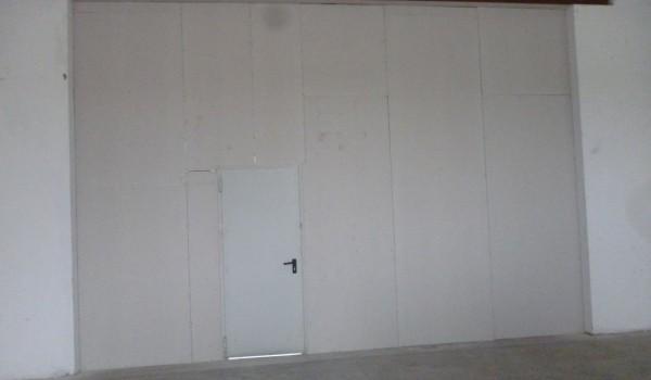 creazione parete REI 120 con montaggio porta TAGLIAFUOCO REI120 a MARANO S.P